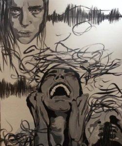 Schilderij: Zoë Scarlett Nieuwendijk